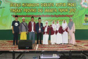 Juarai MQK DKI, Ma'had Aly Jakarta Siap Melaju Ke Tingkat Nasional