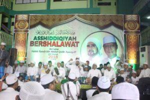 Asshiddiqiyah Bershalawat Bersama Habib Syech Dan Gus Azmi