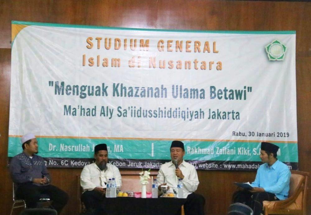 Tingkatkan Khazanah Keilmuan, Ma'had Aly Adakan Studium General