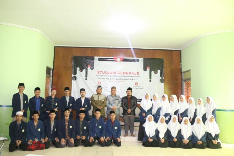 Hadapi Tantangan dan Peluang Era Millenial, Ma'had Aly Jakarta Tingkatkan Kajian Islam