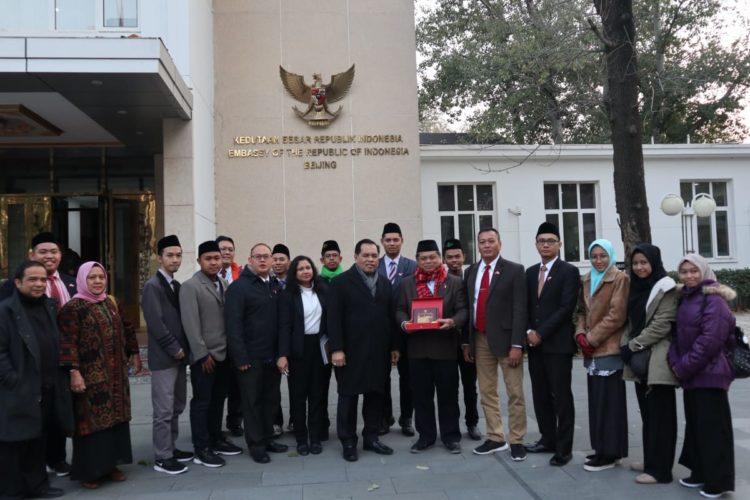 Kunjungi China, Mahasantri Mahad Aly Jakarta Gagas Perdamaian Dunia