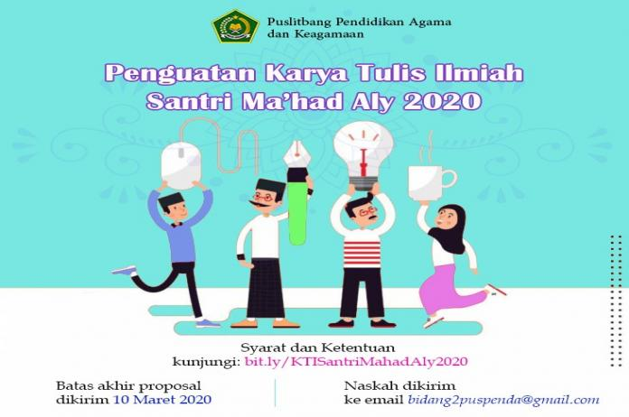 2 Mahasantri Ma'had Aly Jakarta Kembali Lolos KTI Nasional