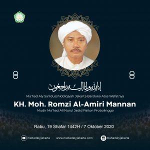 Mengenang KH. Abdul Jalal dan KH. Moh. Romzi al-Amiri